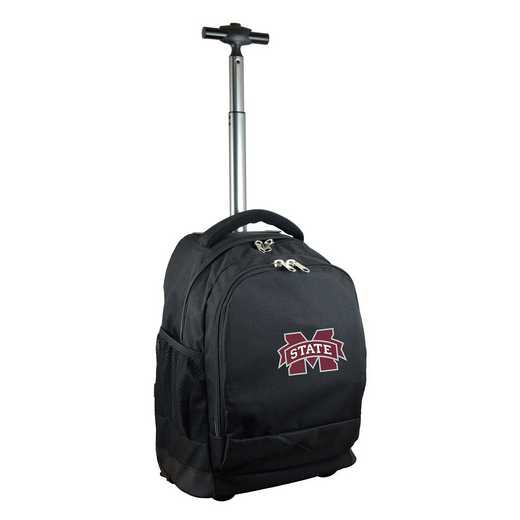 CLMPL780-BK: NCAA Mississippi State Bulldogs Wheeled Premium Backpack